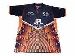 Men Half Sleeve Cricket Sublimation T Shirts, Size: M to XXL