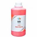 Red 122 Pigment Paste For Water Based Paste