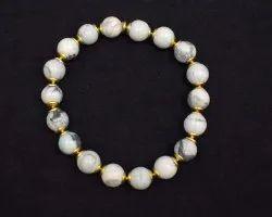 Howlite Gemstones  Handmade Bracelets