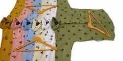 Printed Collar Neck Mens Full Sleeve Cotton Shirt, Machine wash