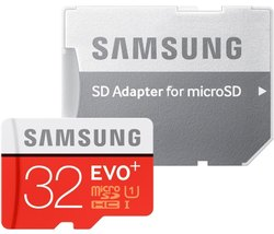 Micro Sd Card Samsung 32 GB EVO Plus Memory Cards, For MOBILE, Size: MicroSD