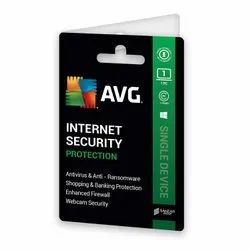 2 Year AVG Internet Security Software With 1 PC
