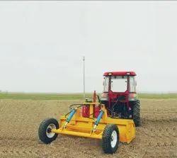M.A.S Cast Iron Laser Land Leveler Computer Manjha, For Farming, 1400 Kg