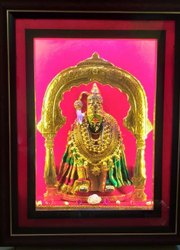 Gold Forming Sheet Golden Tulaja Bhavani Regular Frame, Size: L13 X D3 X H 16.5