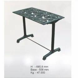 Antique 47.500 Kg Rectangle Cast Iron Garden Table