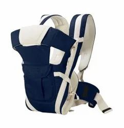 Blue and White Polyester Baby Carrier Bag