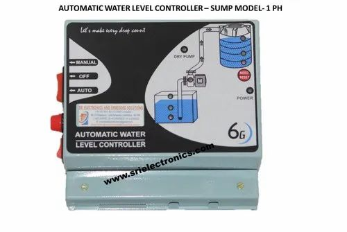 Automatic Water Level Controller -sump Model-1 Ph