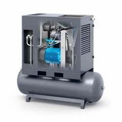 Atlas Copco Oil Injected Piston Compressor