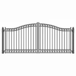 Modern Iron Swing Gate, For Residential