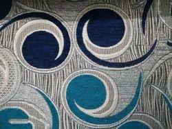 Huria Handicrafts Embroidered Heavy Chenille Sofa Fabric