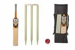 Fufazzz Sports Zipper Jaker Orange Cricket Kit