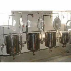 SS Kitchen Steam Boiler