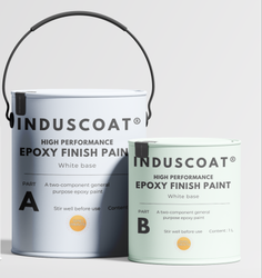 Induscoat High Gloss Epoxy Finish Paint, Packaging Size: 20L,1L, Packaging Type: Bucket