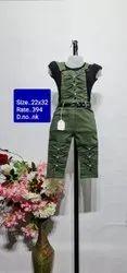 NK 22x32 Kids Dangri Suit