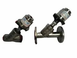 Angle Type On And Off Control Valve