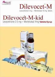 Levocetirizine 5mg + Montelukast 10mg Tablet