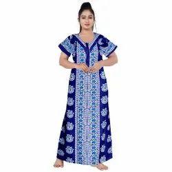 Casual Wear Wholesale Women Cotton Sleepwear, Size: Free Size