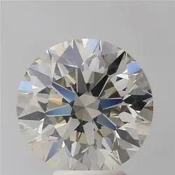5.10ct Round Brilliant K SI1 IGI Certified Natural Diamond