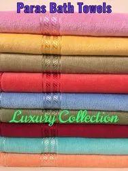 Paras Velour Bath Towel -- LUXURY COLLECTION
