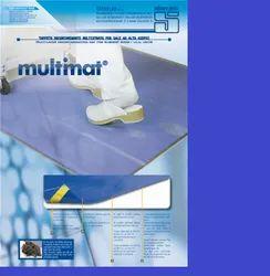 Adhesive Antimicrobial Mat