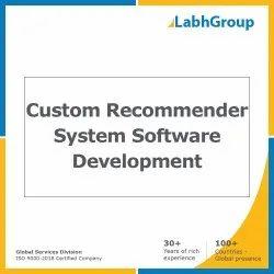 Custom Recommender System Software Development