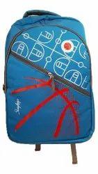 Skaybags Polyester 25 L Stylish Blue Laptop Bag