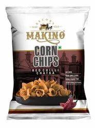 Corn Red Chilli Chatka Chips