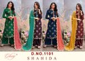 Glossy Shahida Viscose Upada Sequence Work Designer Salwar Suit Catalog