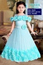 HTK 805 Kids Party Wear Gown