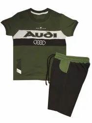 Gender: Boys Green Baby Cotton Suit