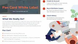 Lifetime Uti white label pan card services