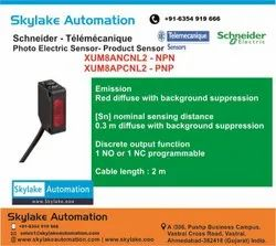 Diffuse Photo Electric Sensor - XUM8ANCNL2