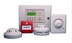 Copper White Fire Alarm System