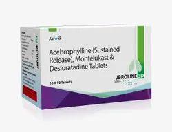 Acebrophylline Montelukast Desloratadine Tablets