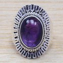 Garnet Gemstone 925 Silver Handmade Jewelry Ring WR-6563