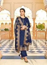 Ladies Designer Suit Material
