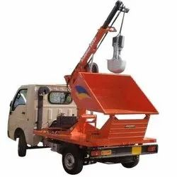 Manhole Desilting Machine Mounted on TATA ACE Gold