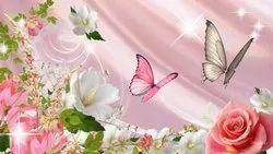3D Flower Wallpaper