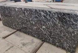 Black Marquino Granite Slab, For Flooring, Thickness: 18 mm