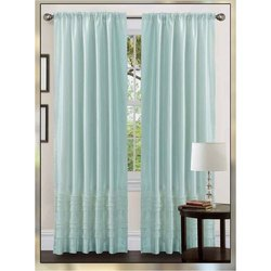 Polyester Plain Multicolor Curtains, Size: 9*4 Ft, Length: 7 Foot