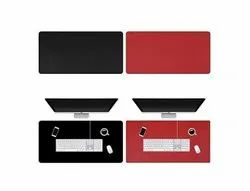 PU Leather Dual-Sided Non Slip Extended Gaming Waterproof Blotter, Gaming Pad