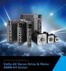 Delta Servo Motors, 50W  To 5kW, 230V  AC. To 440V  AC