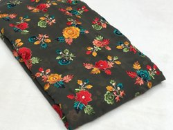 Viscose Georgette Embroidery Fabrics
