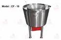 Circular Direct Heat Fryer Machine