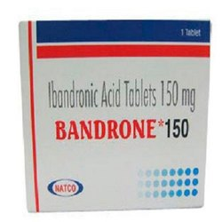 Bandrone 150 ( Ibandronic Acid Tablets )