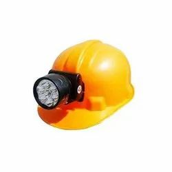Safety / Industrial Helmet With Led Torch