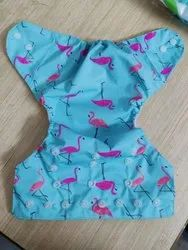 Little Angel Printed button diaper