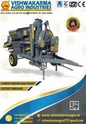 LOWER FEEDING MULTICROP CUTTER THRESHER MACHINE