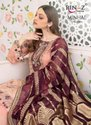 Rinaz Fashion Minhal Vol 4 Fox Georgette With Embroidery Pakistani Suit Catalog