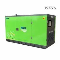35 KVA Kirloskar Diesel Generator
